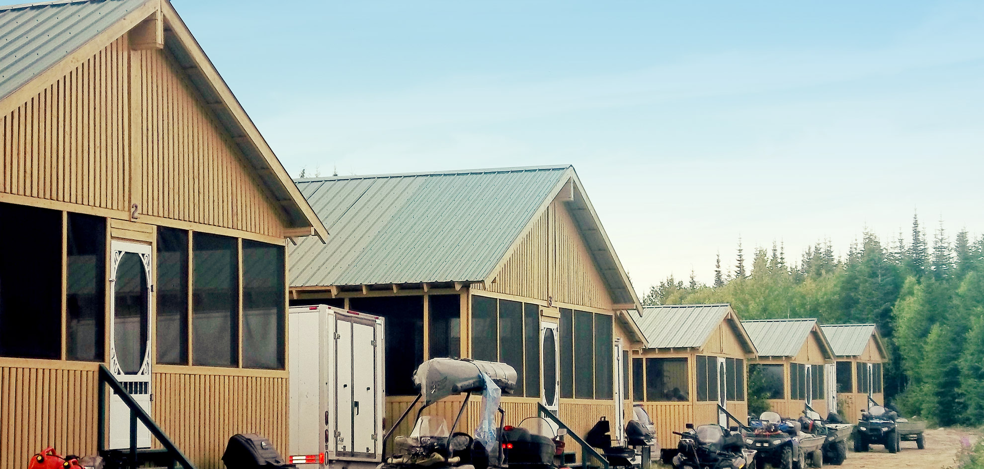 Pourvoirie Chibougamau - Location de chalets Nord-du-Québec Saguenay Lac-Saint-Jean