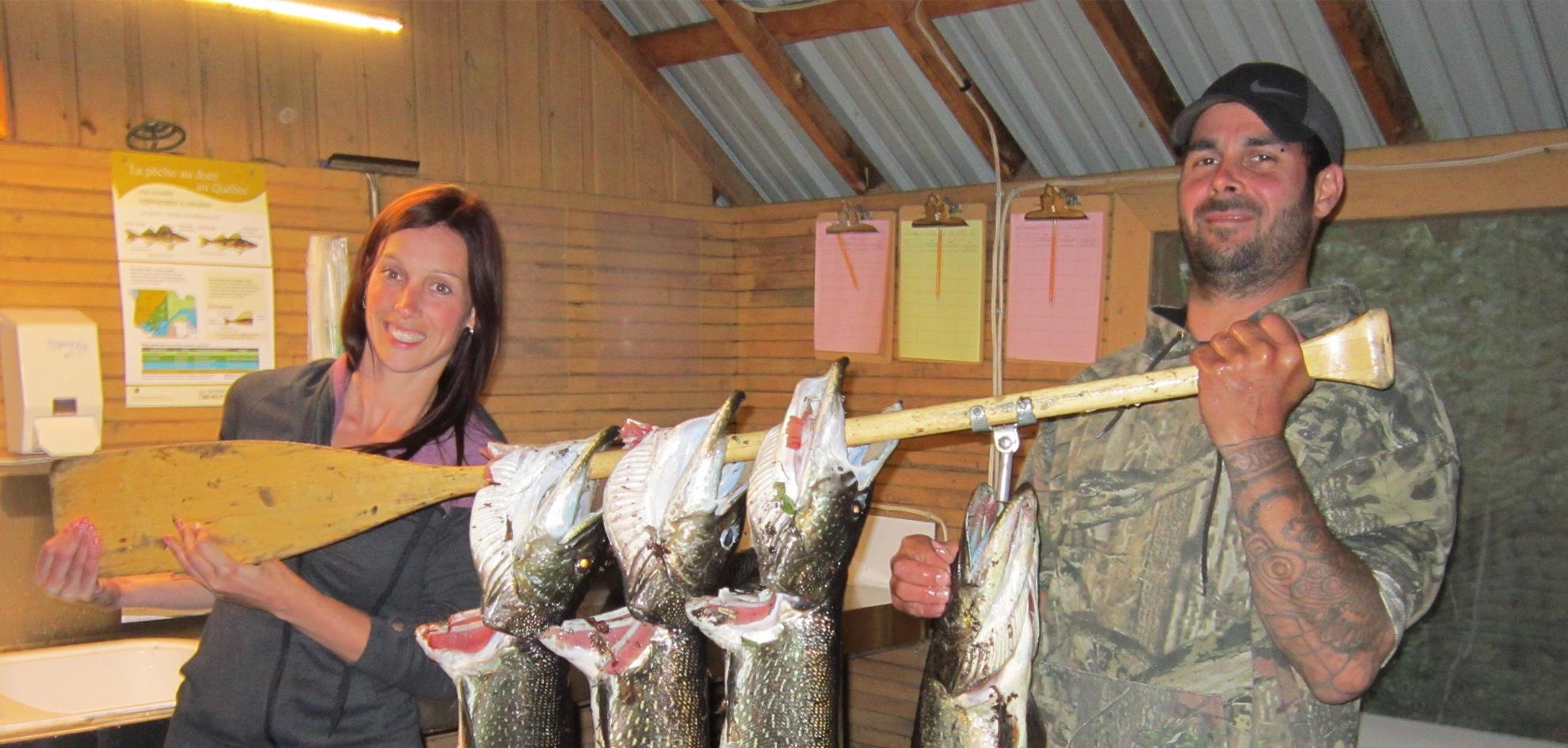 Pourvoirie Chibougamau - Lac Laganière et Lac des canots - Pêche au brochet et au doré